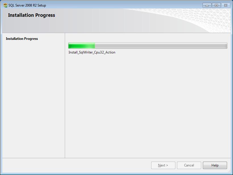 Okno instalacji programu - krok 12